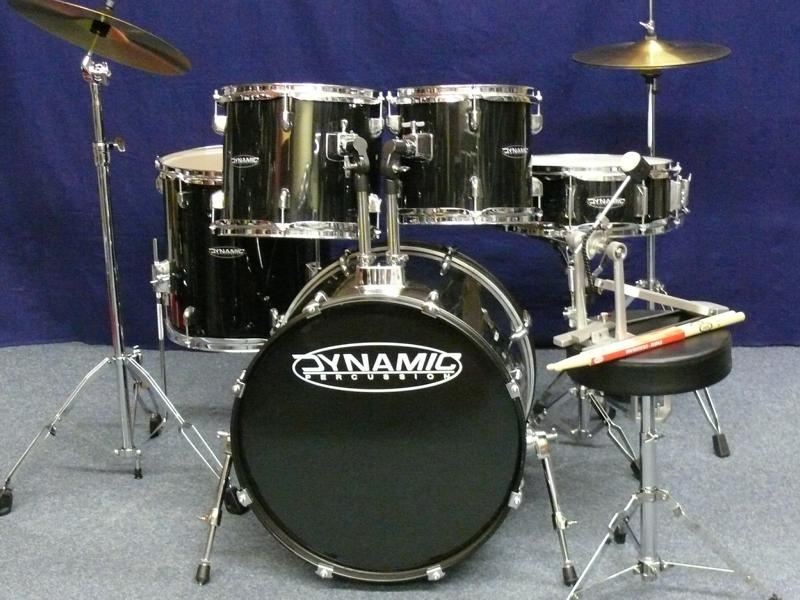 """Dynamic Drumset 22,12,13,16"""" + Snare - drum station maintal"""