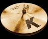 ZILDJIAN K-Custom - 13 Dark Hi Hat - Traditional Finish