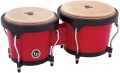 LP Aspire® Wood Bongos, Red/Black LPA601-RW