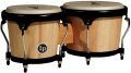 LP Aspire® Wood Bongos, Natural/Black LPA601-AW