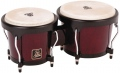 LP Aspire® Wood Bongos, Dark Wood/Black LPA601-DW
