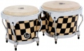 LP Aspire® Accent Wood Bongos, Checkerboard/Chrome LPA601-CHKC