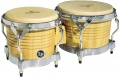 LP Matador® Wood Bongos, Natural/Chrome M201-AWC
