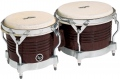LP Matador® Wood Bongos, Dark Brown/Chrome M201
