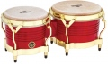 LP Matador® Wood Bongos, Blaze Red/Gold Tone M201-RW