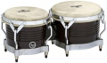 LP Matador® Wood Bongos, Black Wood/Chrome M201-BKWC