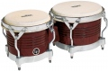 LP Matador® Wood Bongos, Almond Brown/Chrome M201-ABW