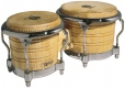 LP Generation II® Bongos, Natural/Chrome LP201AX-2