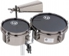 LP John Dolmayan Mini Timbales with Cowbell & Mount Pack 845-JD