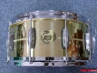 Gretsch USA Custom Solid Spun Brass Snaredrum G4164SB (3383)
