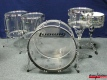 Ludwig USA Clear Vistalite Shellset (3278)