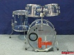 Sonor Champion Blue Acryl 70er Vintage Shellset (3970)