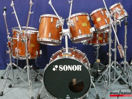 Sonor Signature Horst Link Bubinga Heavy Drumset